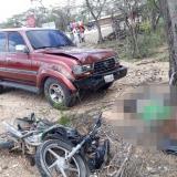 Muere arrollada pareja wayuu que se transportaba en una motocicleta