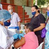 Sucre repunta en proceso de vacunación contra la covid-19