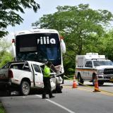 Aparatoso accidente en Ponedera deja tres fallecidos