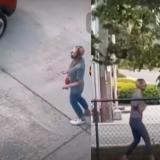 Extraño video de una mujer deambulando en las calles de Seattle