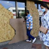 Daños por actos vandálicos contra el comercio de Barranquilla