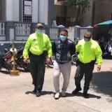 Capturan a presunto responsable en robo de barbería en el norte