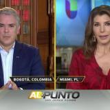 """""""Respéteme"""": la respuesta de Duque a Patricia Janiot por llamarlo títere"""