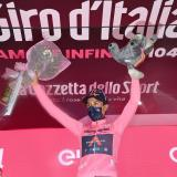 Egan Bernal líder Giro de Italia 2021