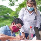 Jornada de identificación en zona rural de Riohacha