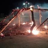 Queman enramada wayuu y dejan panfleto amenazante en Riohacha