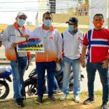 Marcha de Ademacor recorrió las calles del sur de Montería