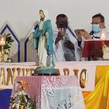 """Obispo invita a orar por el fin de la pandemia y del """"estallido social"""""""