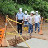 Revisan avance de proyectos de infraestructura vial en Montería