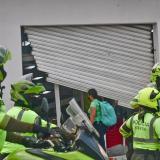 Policía tras la pista de los agitadores que desatan desmanes en Barranquilla