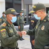 Director de la Policía supervisó el trabajo de seguridad en Barranquilla