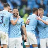 Agüero se despide del Manchester City con doblete