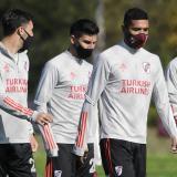River recupera a varios jugadores para luchar el tiquete ante el 'Flu'