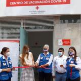 Cruz Roja habilita punto de vacunación covid en el Atlántico