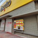 Establecimientos comerciales en Montería fueron vandalizados este lunes
