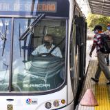 Transmetro operará con normalidad durante toque de queda este domingo