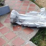 Niña de cinco años muere tras caerle encima una estatua del Sagrado Corazón