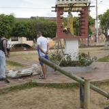 """""""Llegué y mi hija estaba debajo de la estatua"""": padre de menor fallecida"""
