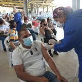Exitosa jornada de vacunación durante el fin de semana en Barranquilla