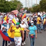 Movilización en Riohacha fue pacífica
