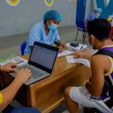 Dadis realiza pruebas masivas de covid a deportistas cartageneros