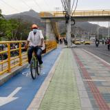 Ejecutan 5 kilómetros de ciclorruta para movilidad segura de samarios
