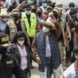 La región natal de Pedro Castillo lo acompaña a votar masivamente