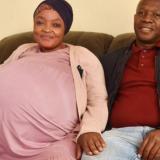 Mujer sudafricana rompe récord al dar a luz diez bebés