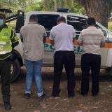 Capturan a tres hombres por tráfico de migrantes en Montería