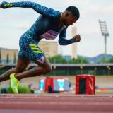 Anthony Zambrano gana en los 400 metros de la Liga de Diamante en Florencia