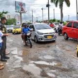 Estas son algunas vías que serán recuperadas en Cartagena