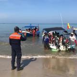 Capitanía de Puerto de Coveñas controla la temporada turística