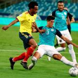 Juan Guillermo Cuadrado pide unión en la Selección Colombia Copa América