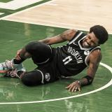 El base Kyrie Irving será baja con Nets para el quinto partido ante Bucks
