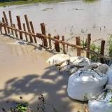 Continúa la alerta roja en el río San Jorge
