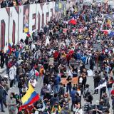"""Comité del Paro anuncia """"interrupción temporal de las movilizaciones"""""""