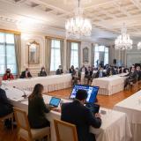 Preisdente Duque reunión con empresarios de gremios este martes 15 de junio