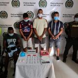 Capturan a cuatro de 'los Felipitos' por extorsión y hurto