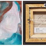 Pintura de David Bowie hallada en un basurero sale a la venta en Canadá