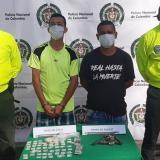 Capturan a dos por venta de estupefacientes en Sabanalarga