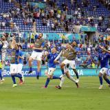 Italia completó una fase de grupos perfecta en la Euro