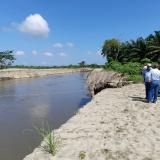 Realizan visita técnica en Ciénaga por alerta de desbordamiento del río