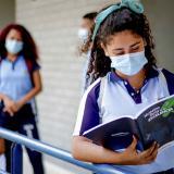 Colegios en el Distrito, dotados con elementos de bioseguridad