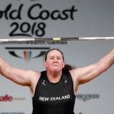 Laurel Hubbard, la primera persona transgénero en unos Juegos Olímpicos