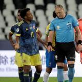 Los expertos analizan la polémica acción de Pitana que originó el gol de Brasil