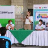 Con donación de equipos tecnológicos impulsan estudios en Barranquilla