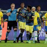 Conmebol reveló audio de jugada polémica en gol de Brasil y respaldó a Pitana