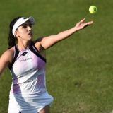 María Camila Osorio quedó a un triunfo de ingresar a Wimbledon