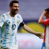 Messi festejó por lo alto su cumpleaños con Argentina