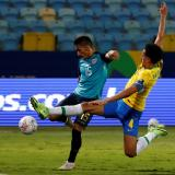Ecuador empató con Brasil y se metió en cuartos de la Copa América